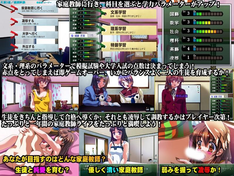 真・凌辱家庭教師 〜処女調教レイプ〜